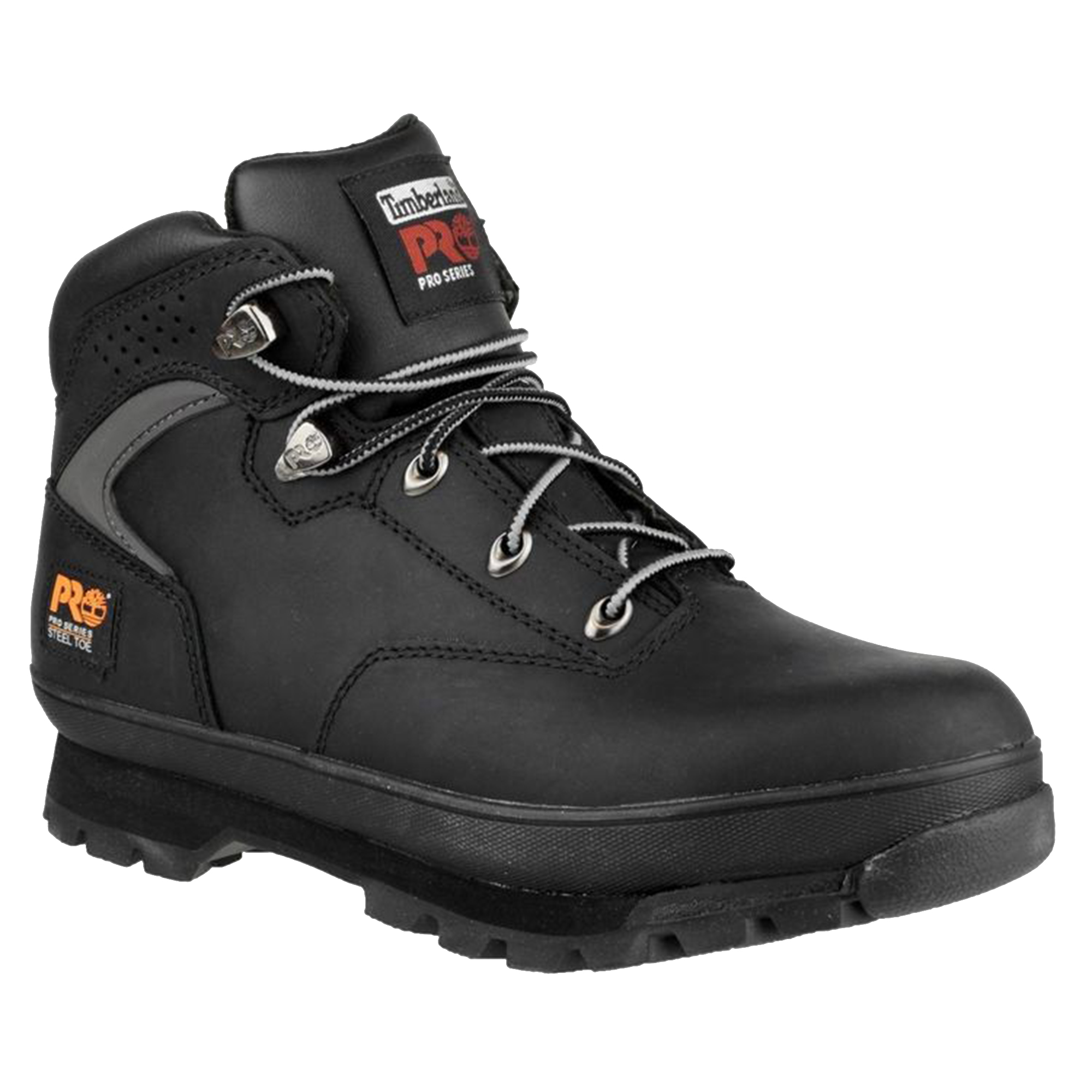 Timberland Pro Mens Euro Hiker Lace Up Safety Boots (6.5 UK) (Black)