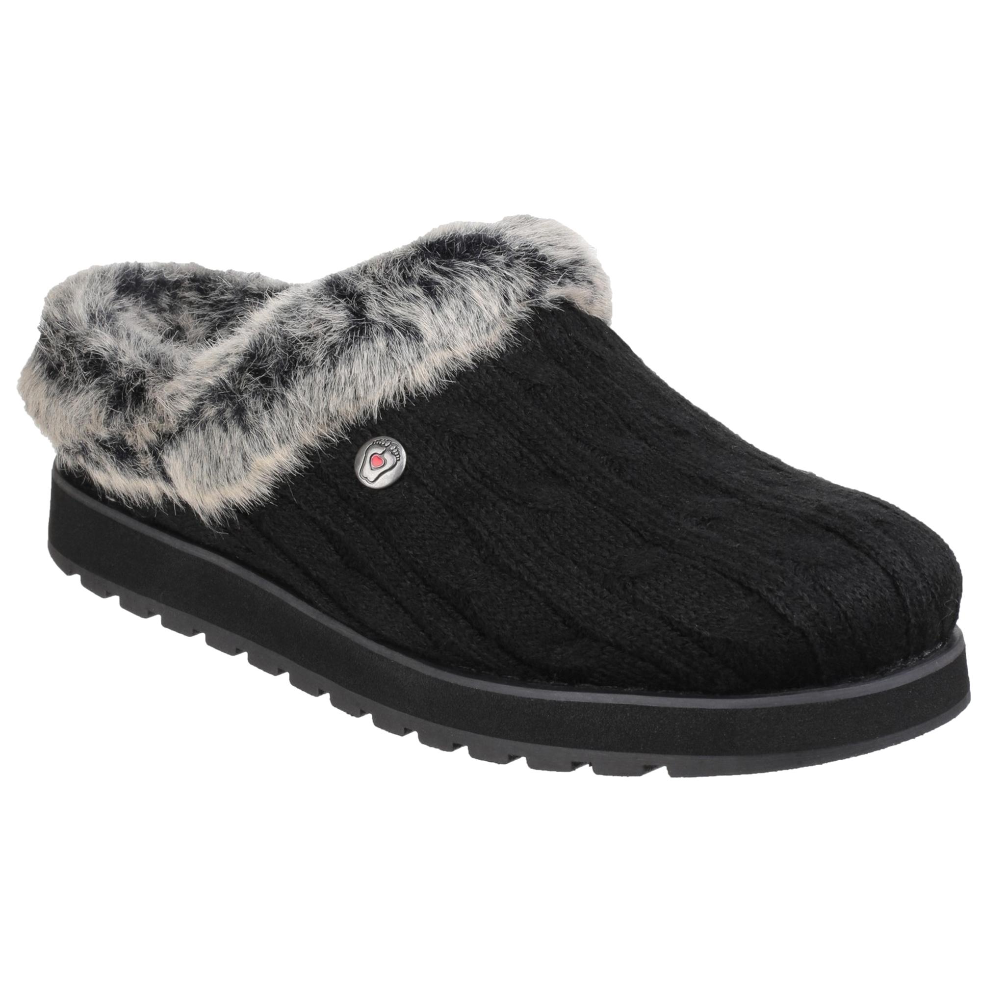 Dettagli su Skechers - Keepsakes Ice Angel - Pantofole invernali - Donna (FS4137)