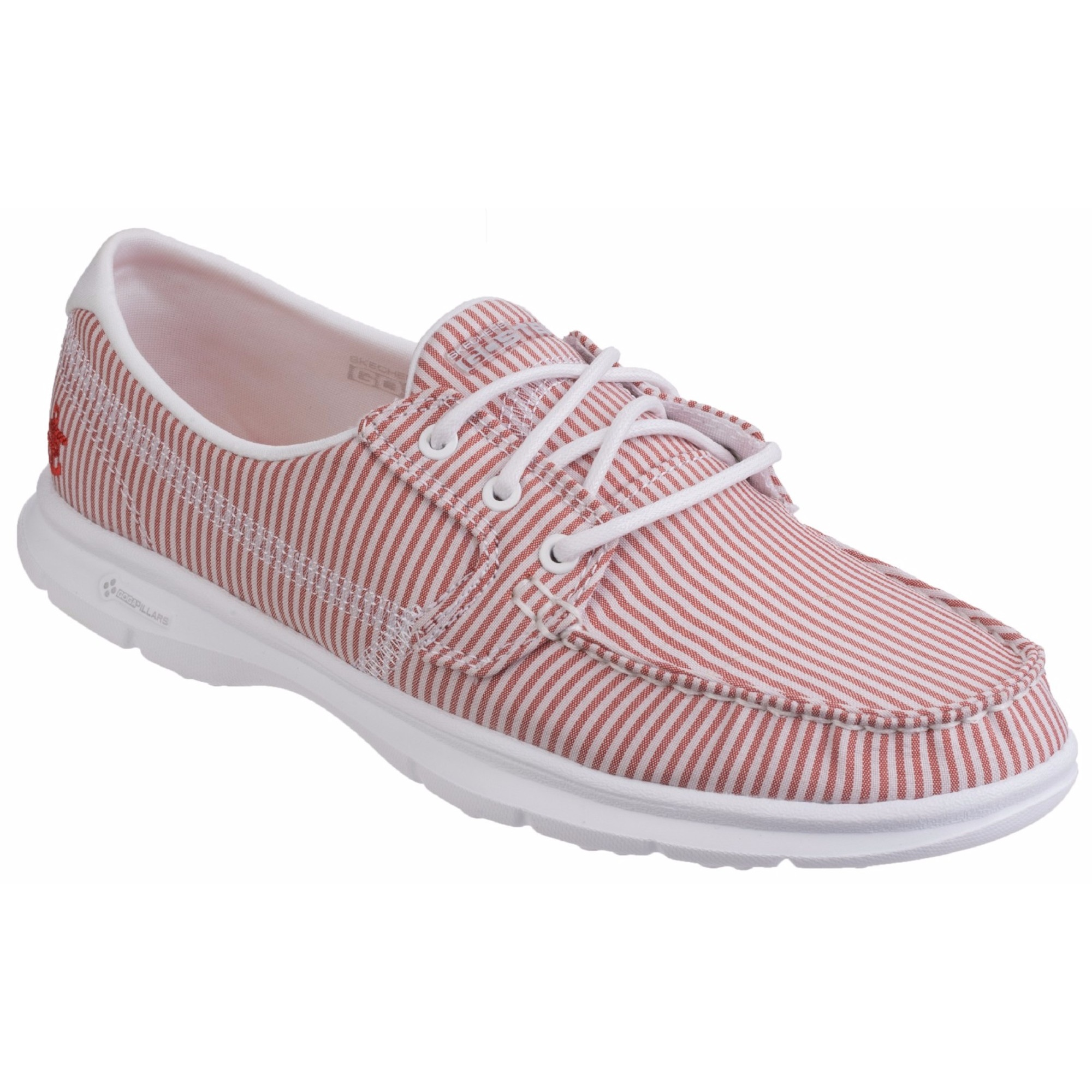 Skechers Womens/Ladies Womens/Ladies Womens/Ladies Go Step Sandy Striped Casual Shoes (FS4208) 41a9d6
