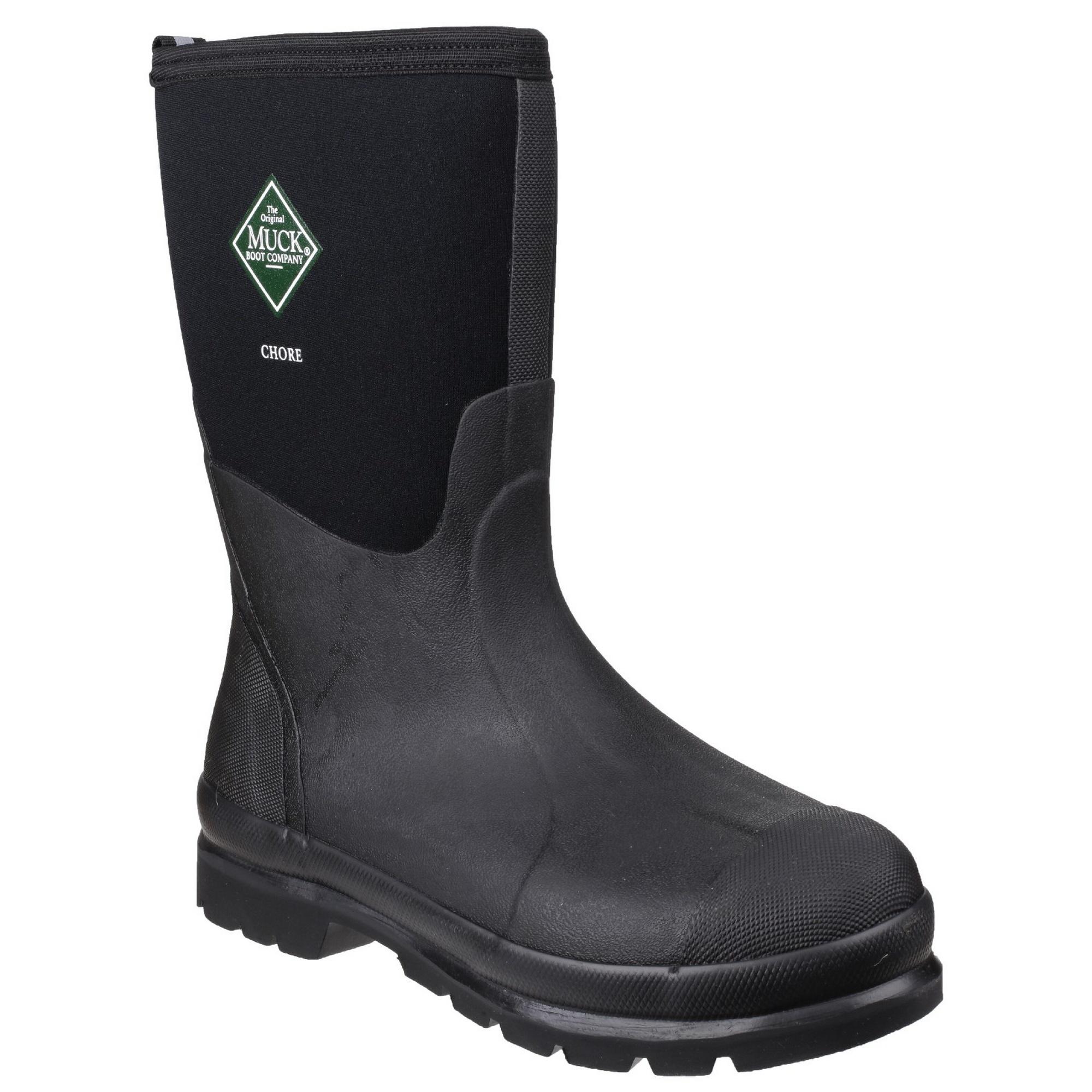 Muck botas - - - Botas de agua clásicas de caña media modelo Chore de uso (FS4293) 9c45bb