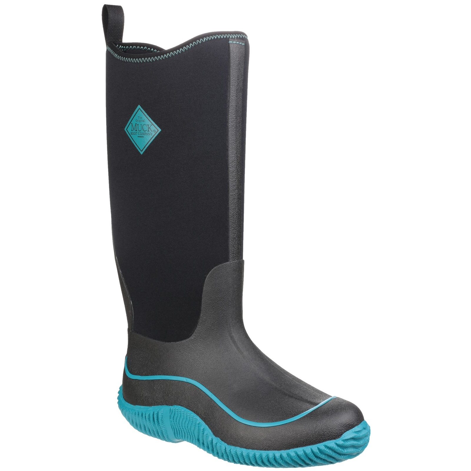 Muck Pull Boots Womens/Ladies Hale Pull Muck On Wellies (FS4301) d93f54