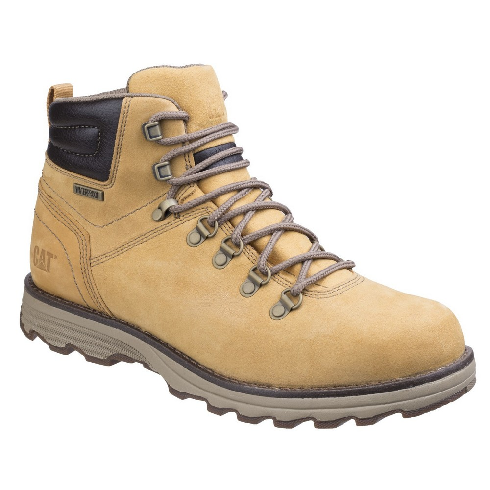 CAT Lifestyle Mens Sire Lace Up Boots (11 UK) (Honey)