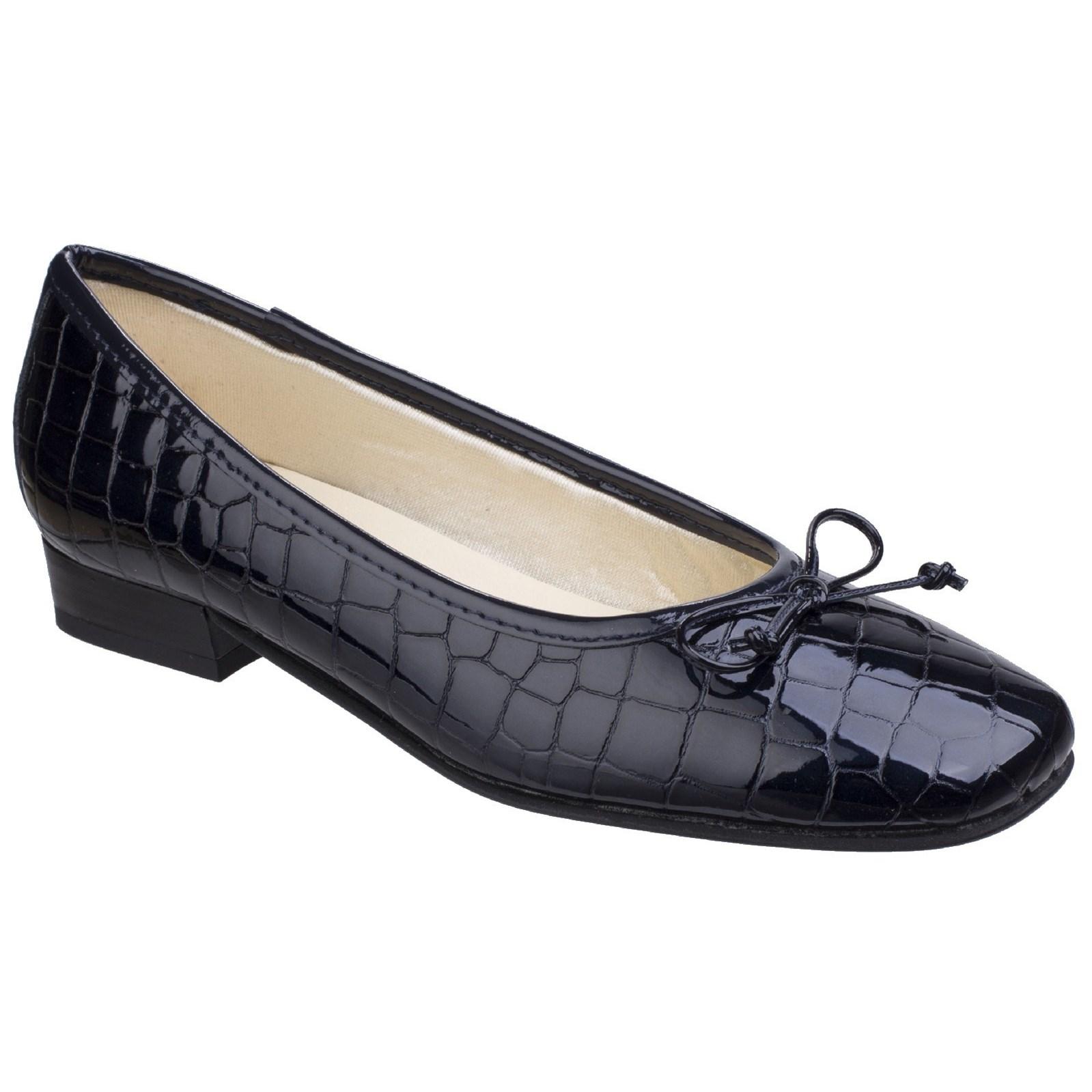 Riva Womens/Ladies Valeria Ballet Court Shoes (3 UK) (Navy)
