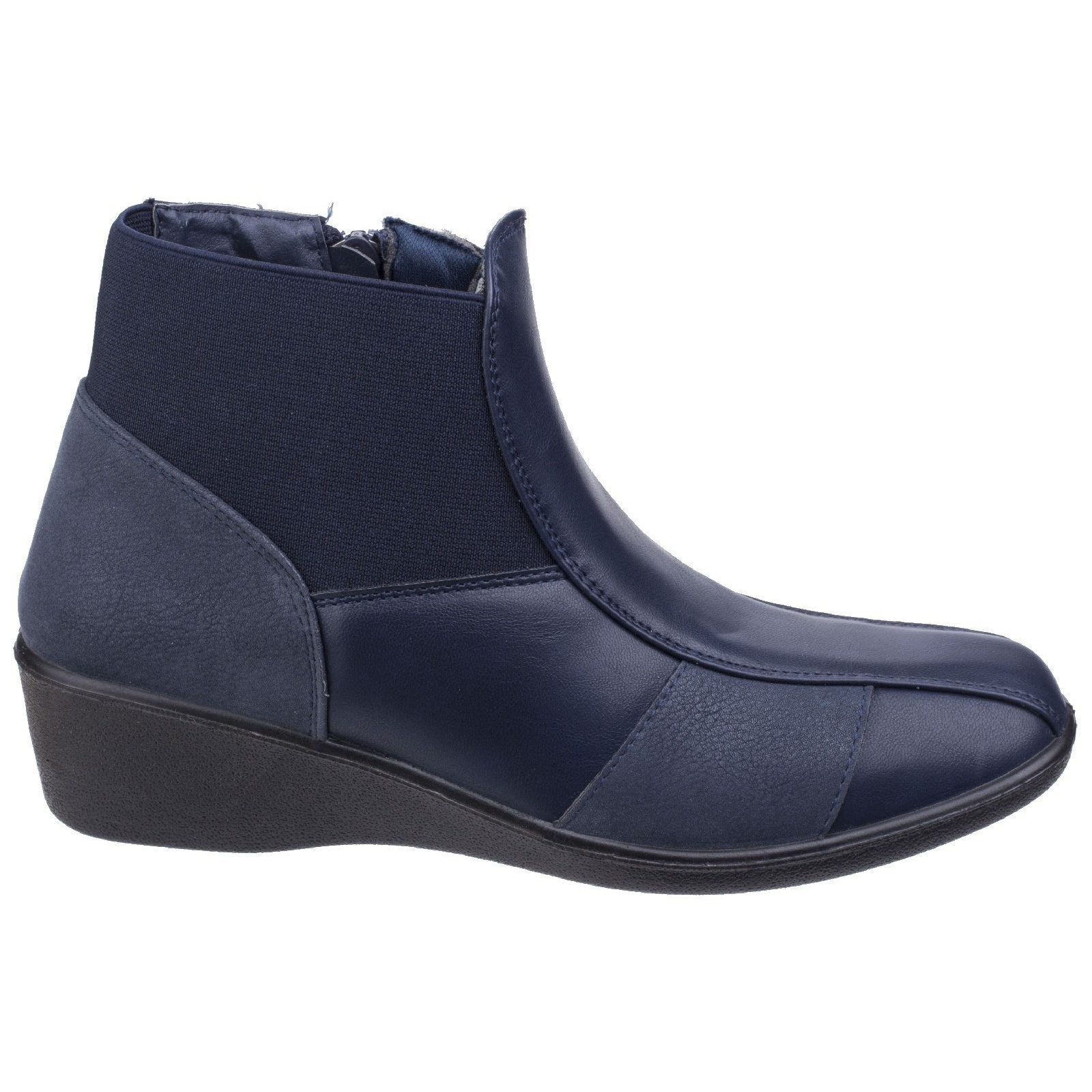 Cipriata Womens//Ladies Alesia Side Zip Ankle Boot DF1849