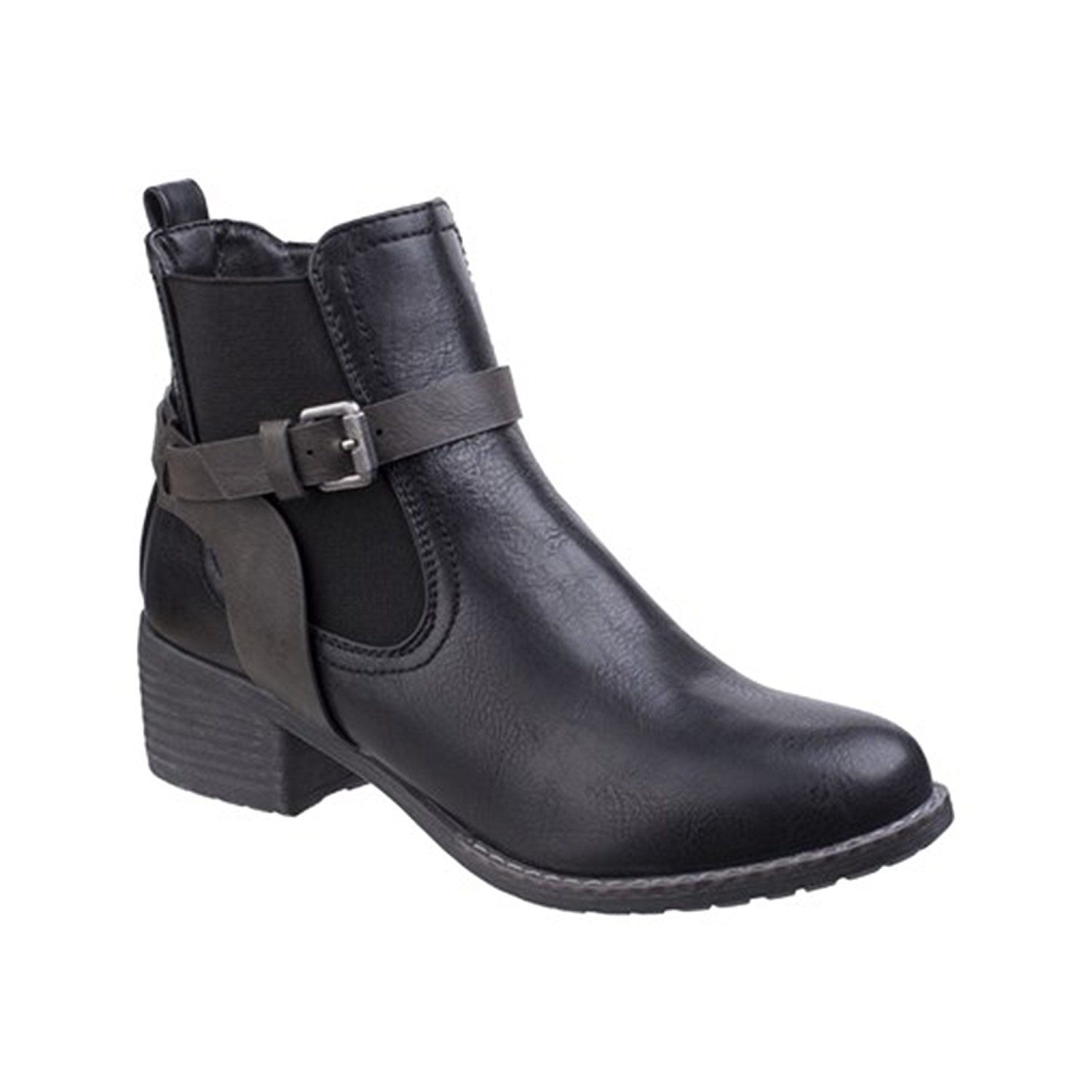 Divaz Womens//Ladies Megan Chelsea Shoe Boots FS5161