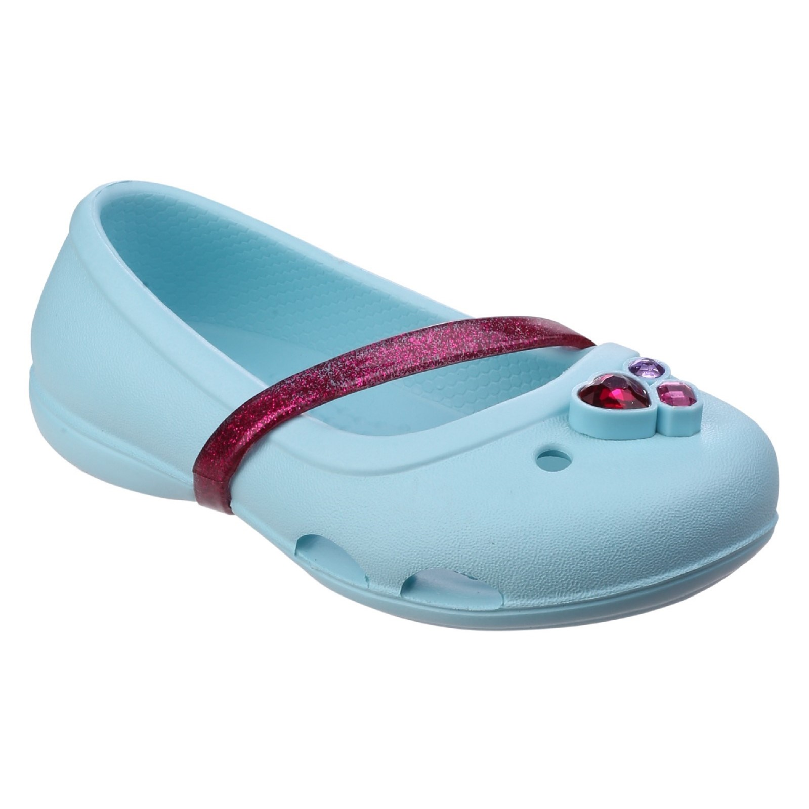 Crocs-Childrens-Girls-Lina-Flat-Shoes-FS5037