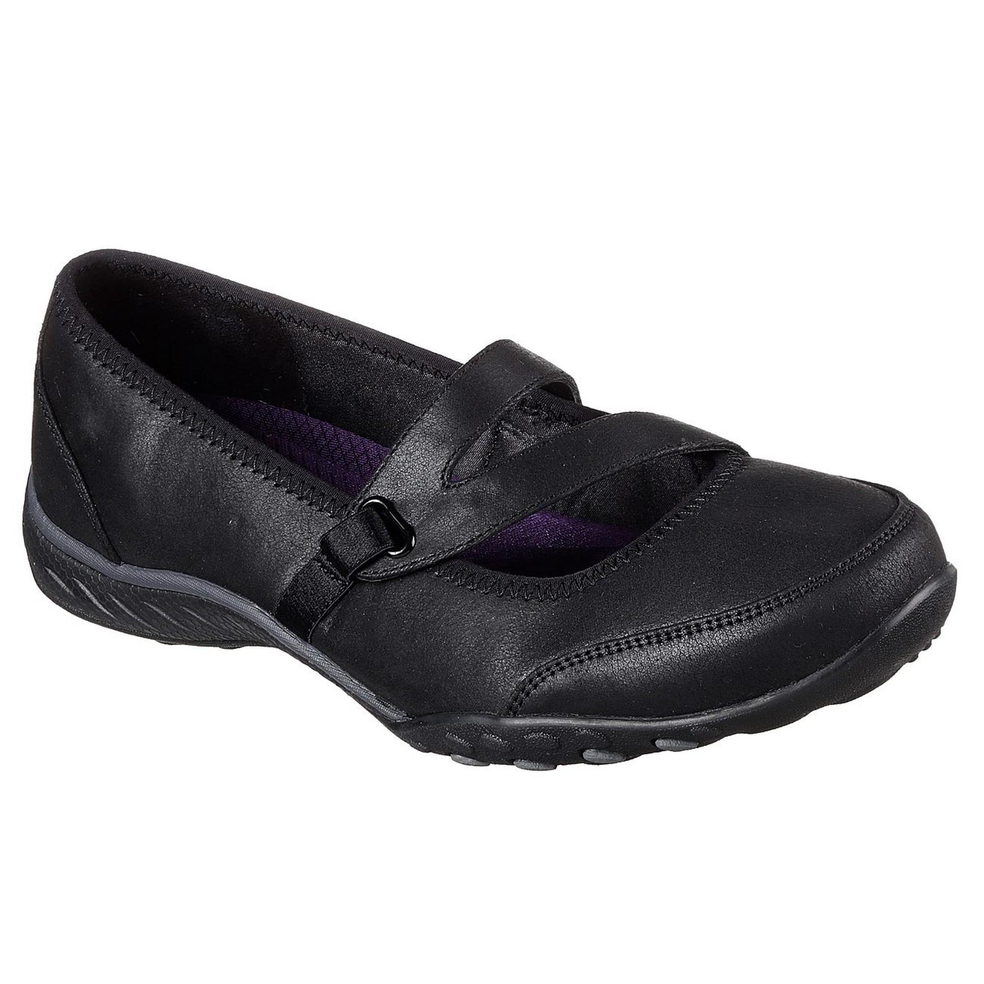Skechers Womens/Ladies Calmly Breathe Easy Leather Calmly Womens/Ladies Shoes (FS5125) b5515c