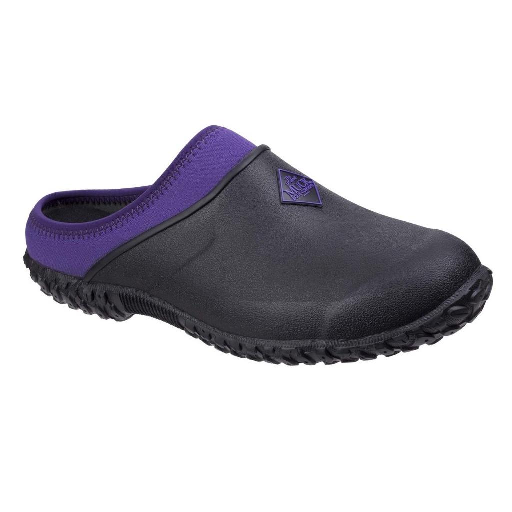 Muck Boots Womens/Ladies Muckster II Gardening Clogs (3 UK) (Black/Purple)
