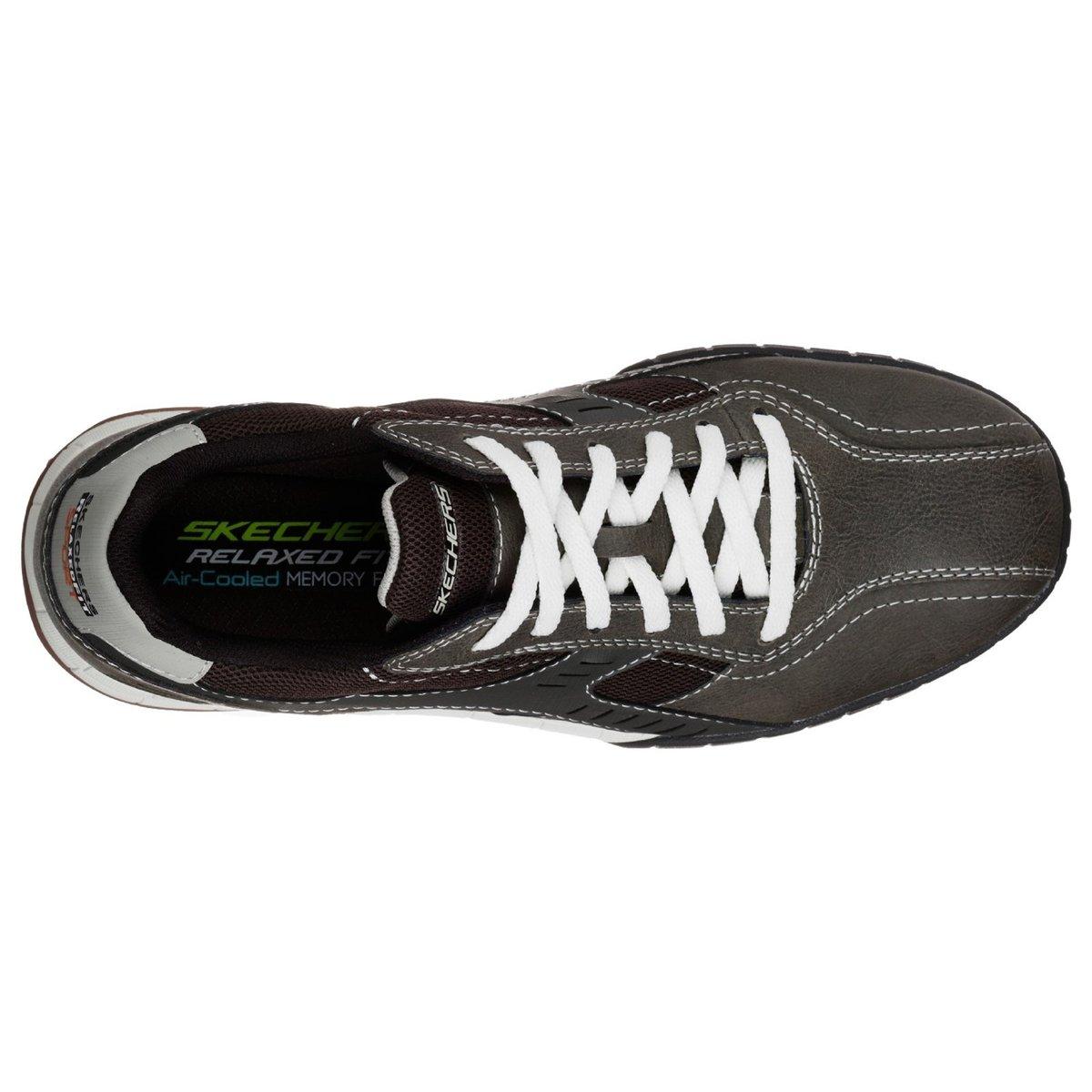 Skechers-Zapatillas-de-cuero-con-cordones-modelo-Floater-2-0-para-FS5178 miniatura 10
