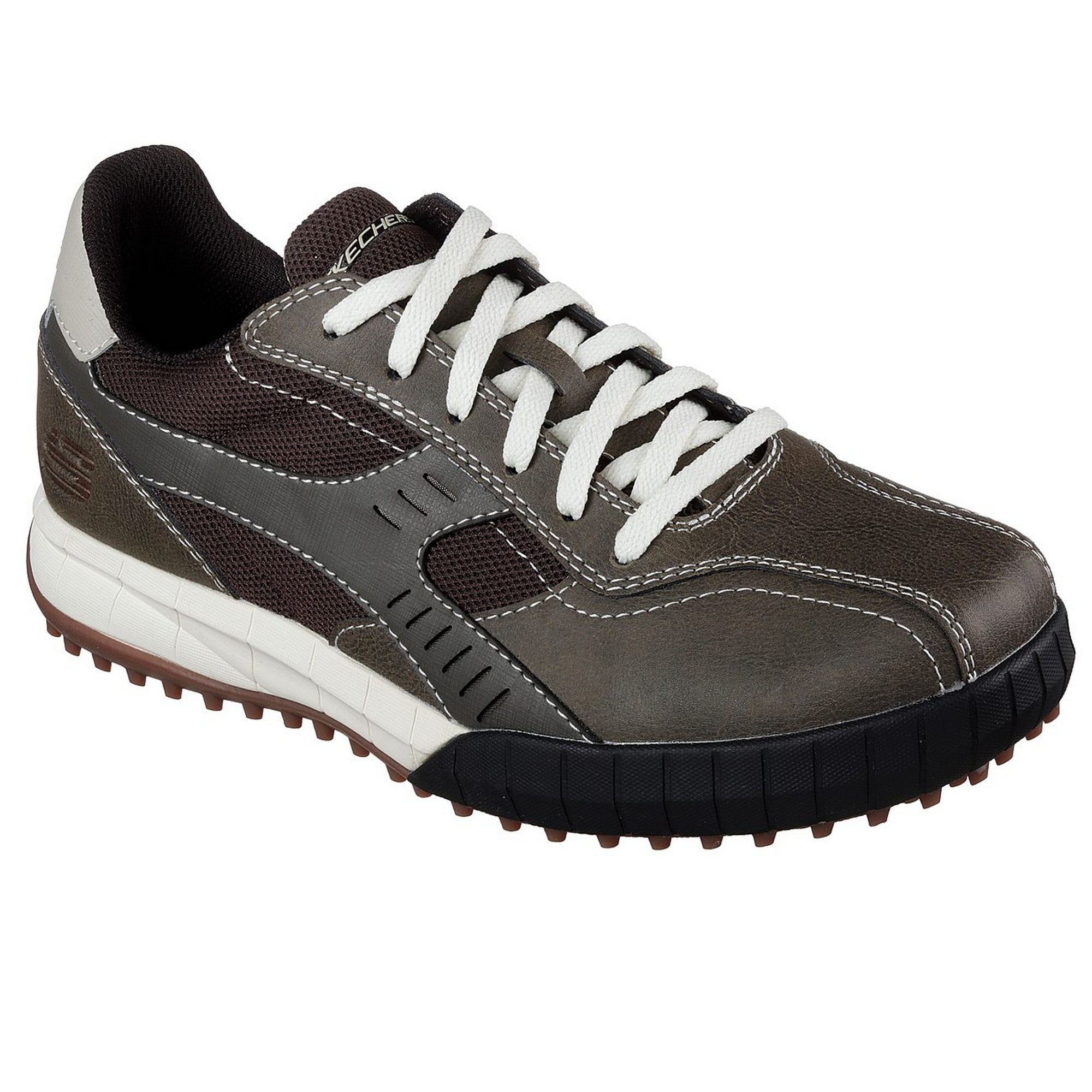 Skechers Herren Floater 2.0 Leder Trainers (FS5178)