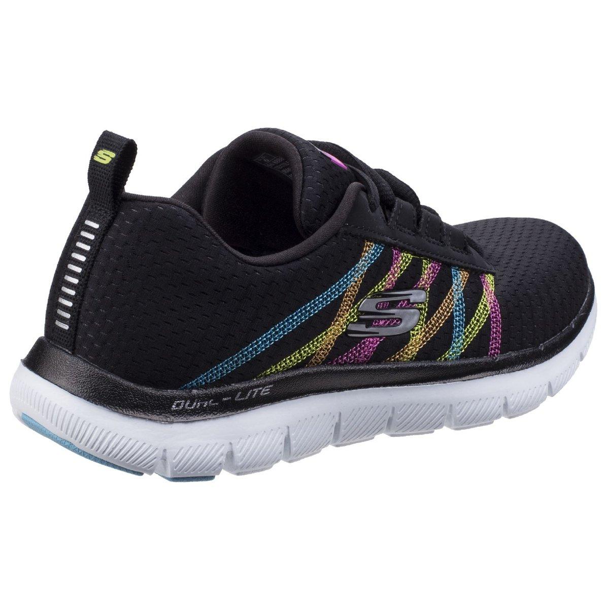 Skechers-Zapatillas-modelo-Flex-Appeal-2-0-Act-Cool-para-mujer-FS5197 miniatura 9