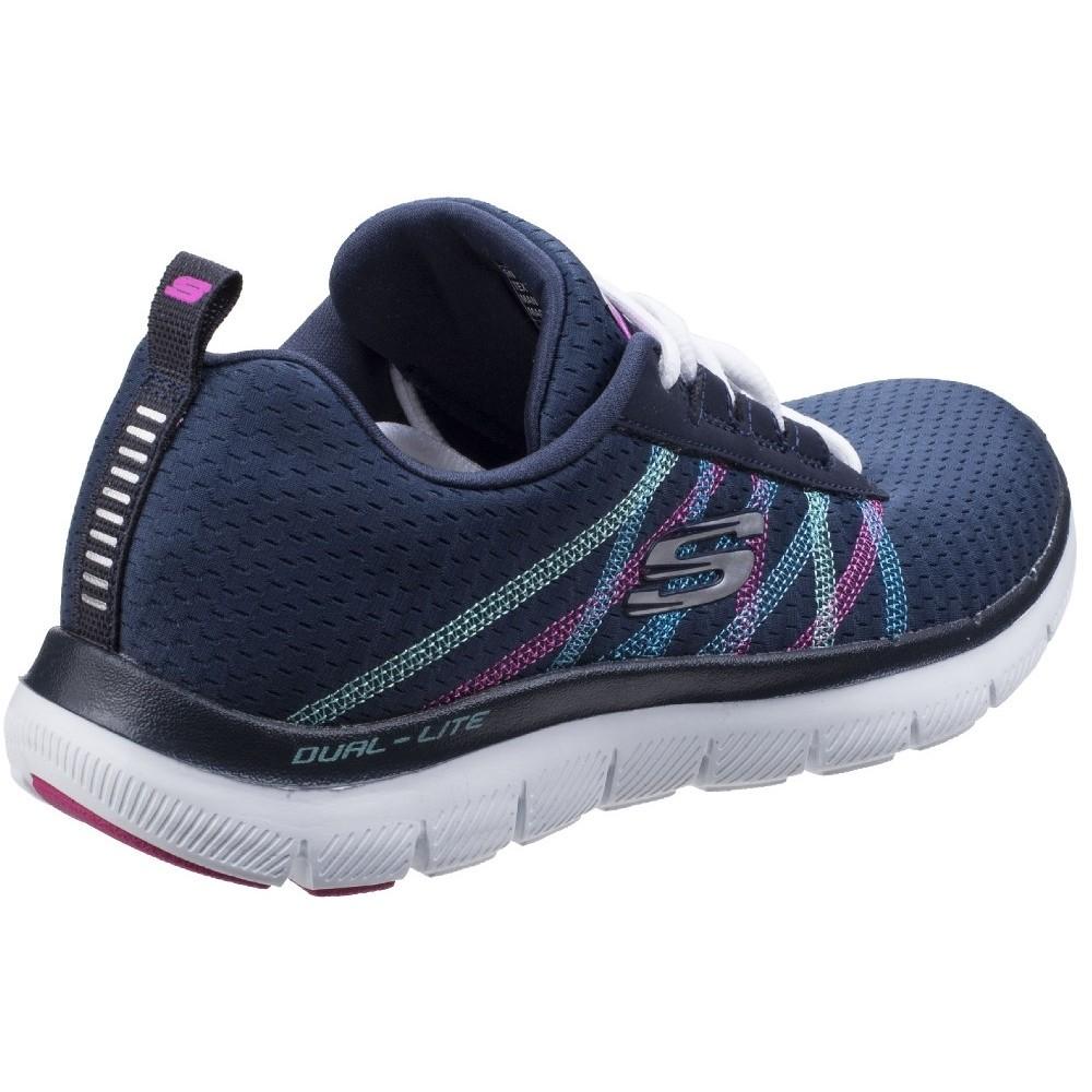 Skechers-Zapatillas-modelo-Flex-Appeal-2-0-Act-Cool-para-mujer-FS5197 miniatura 4