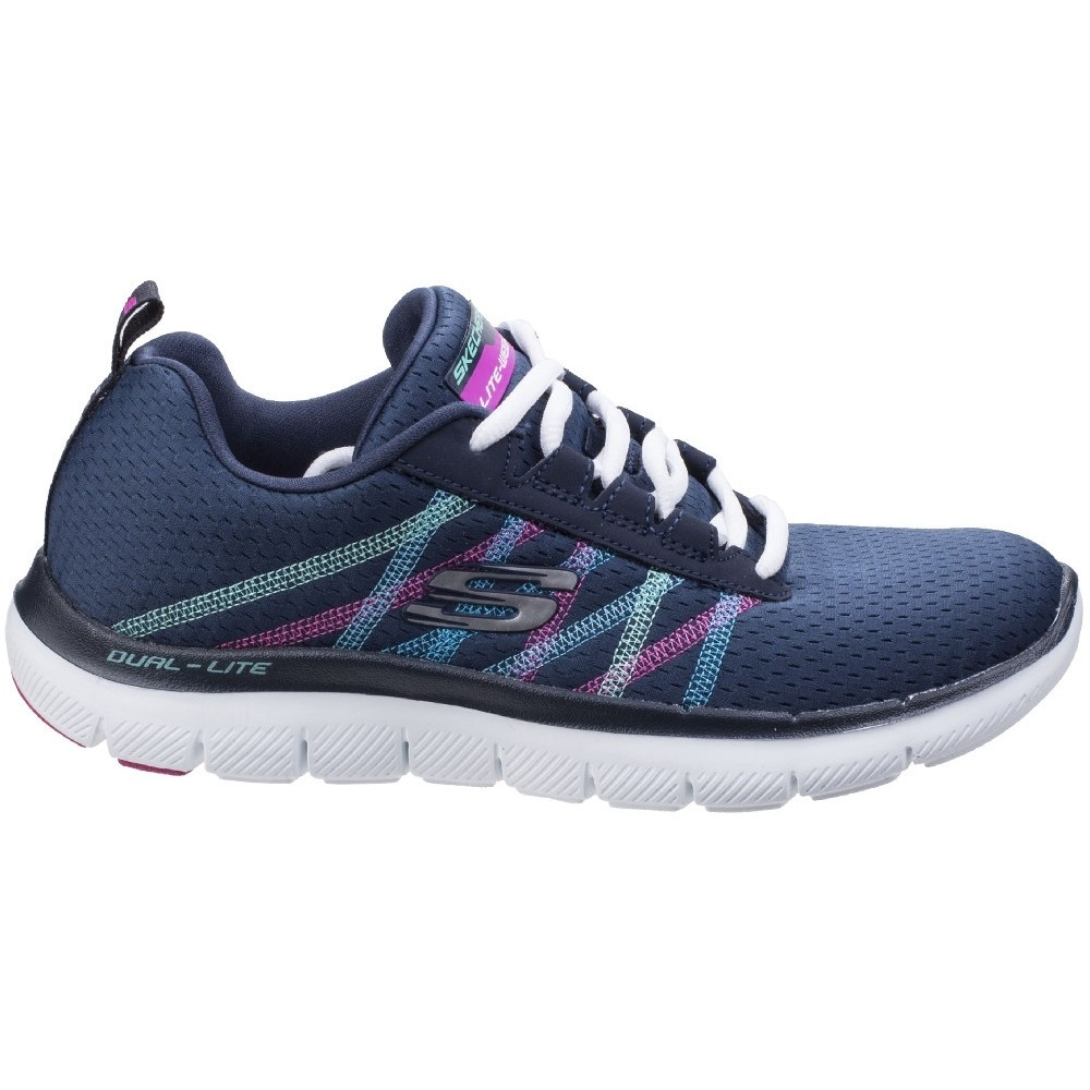 Skechers-Zapatillas-modelo-Flex-Appeal-2-0-Act-Cool-para-mujer-FS5197 miniatura 6