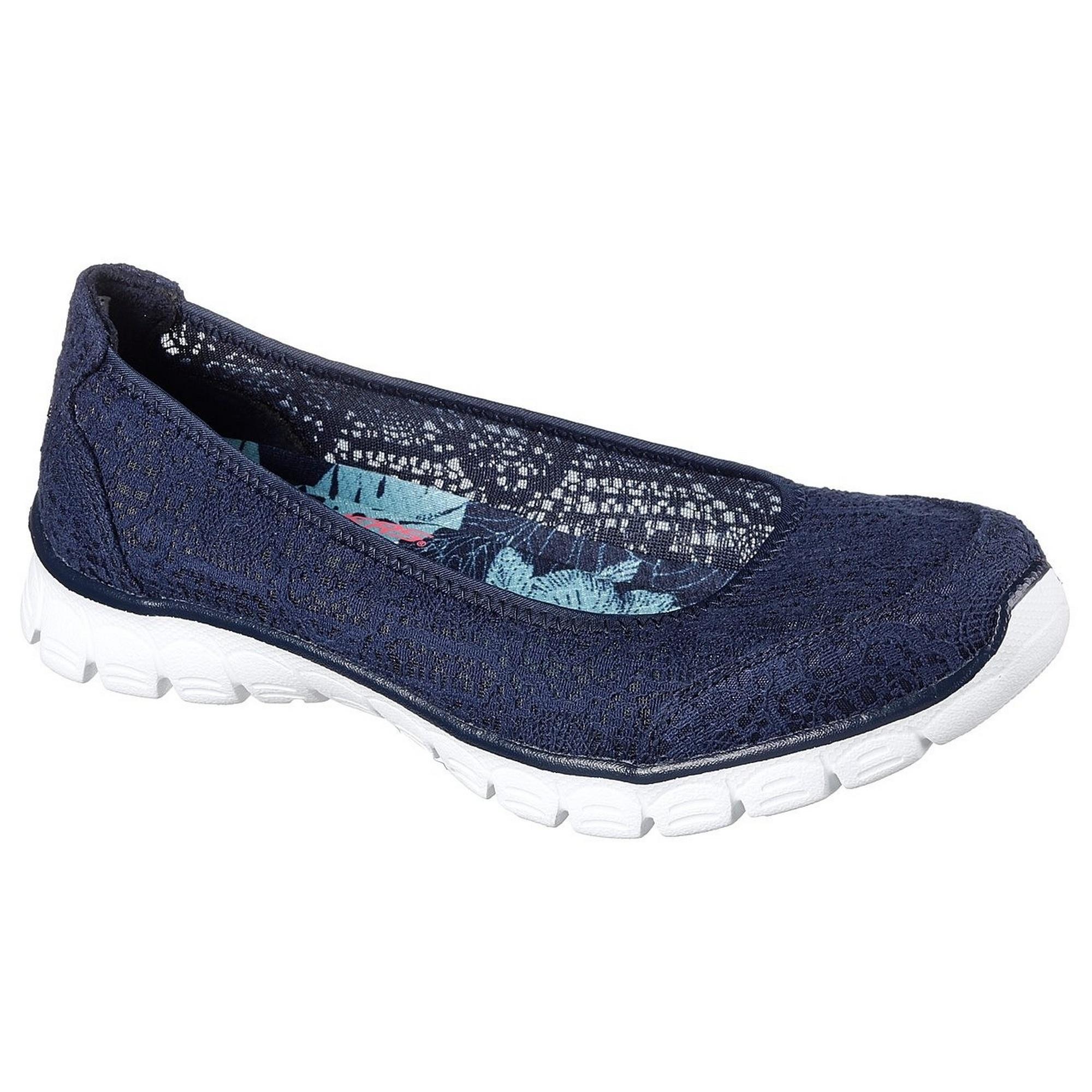 Skechers-Bailarinas-deportivas-de-verano-modelo-EZ-Flex-3-0-Beautify-FS5199 miniatura 4