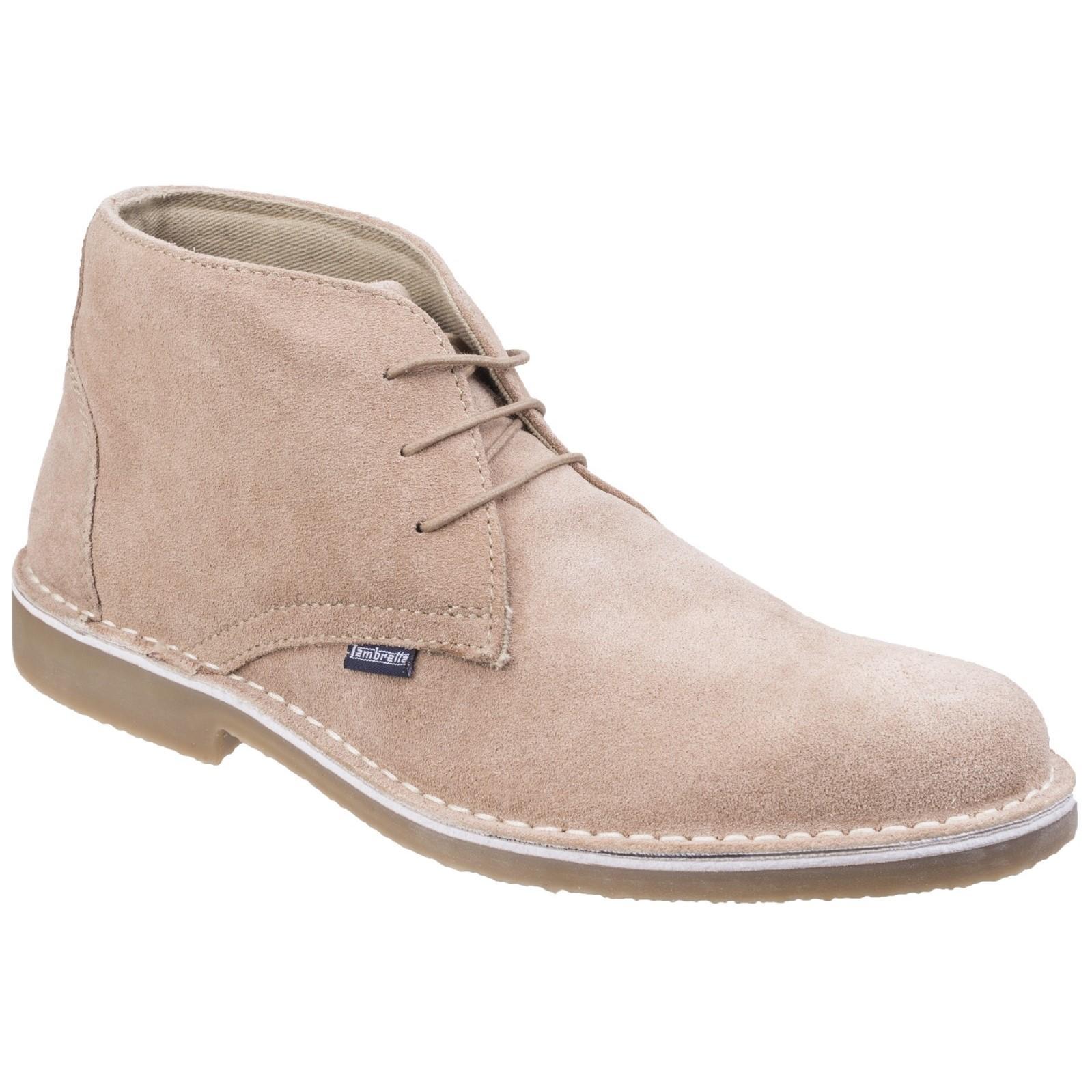 Lambretta Mens Canary II Desert Boots (7 UK) (Beige)