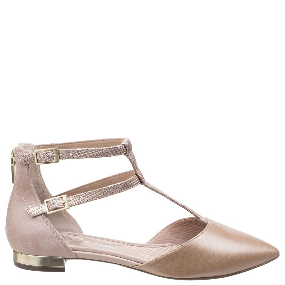 Rockport Womens/Ladies Adelyn Leather T Strap Shoes ...