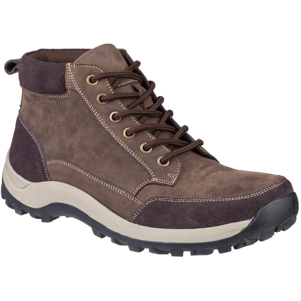 Cotswold Mens Slad Lace Up Boots (8 UK) (Brown)