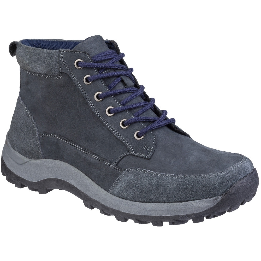 Cotswold Mens Slad Lace Up Boots (12 UK) (Navy)