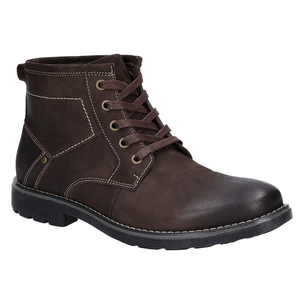 FS5759 Hush Puppies Mens Duke Leather Chukka Boot