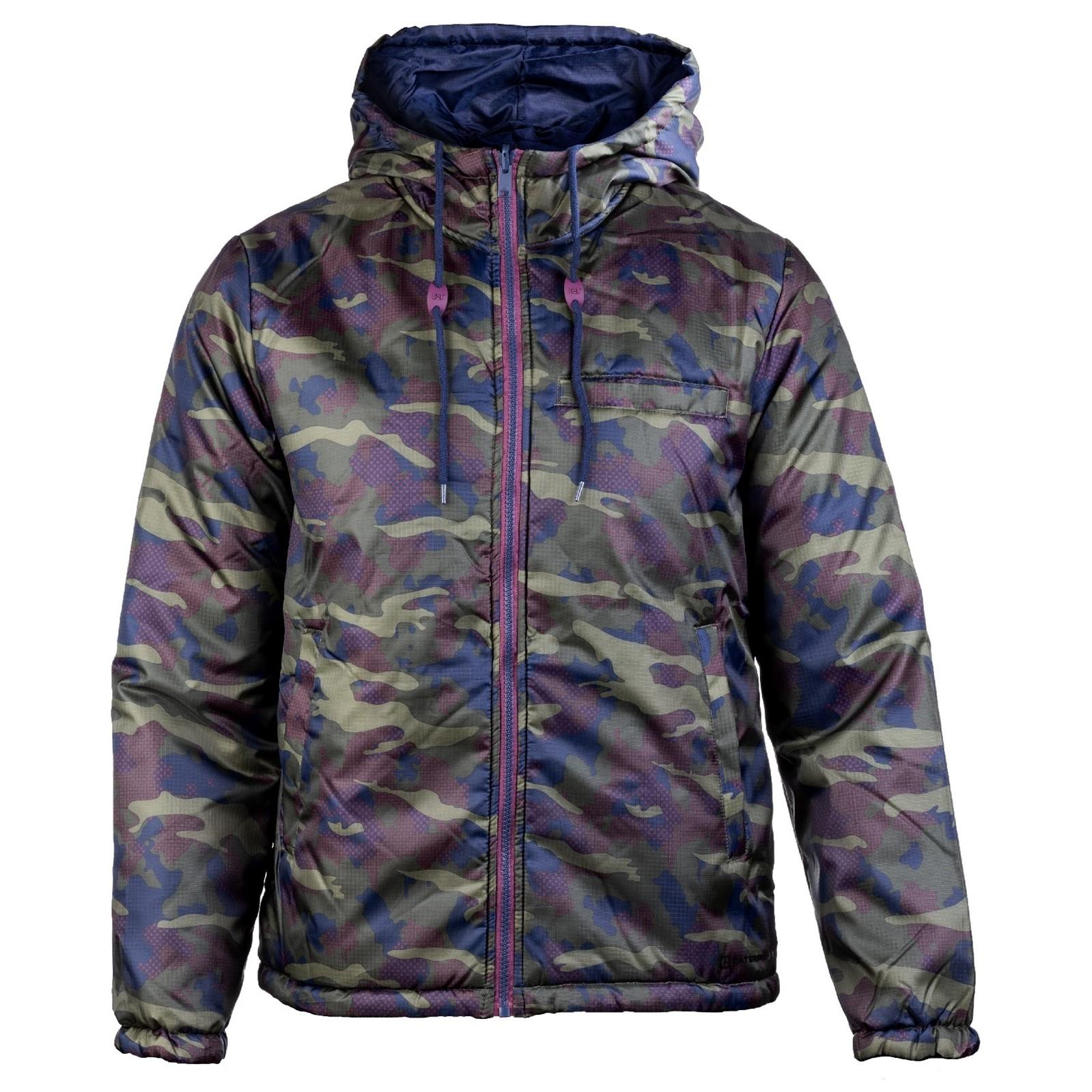CAT Lifestyle Unisex Flight Reverse Zip Up Jacket (XL) (Camouflage)