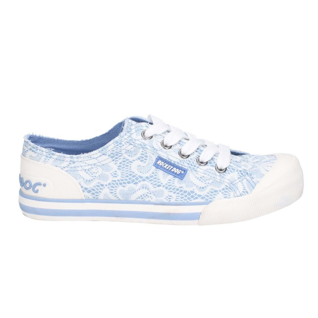 Rocket Dog Womens//Ladies Jazzin Plaza Lace Up Canvas Trainer FS6058