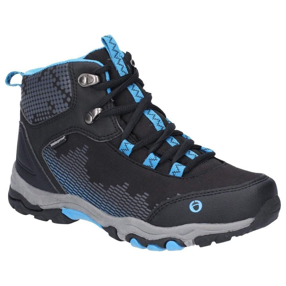 Cotswold Childrens/Kids Ducklington Lace Up Hiking Boots (13 Child UK) (Black/Blue)