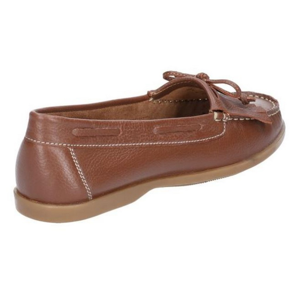Hush Puppies Womens//Ladies Maggie Toggle Leather Shoe FS6137