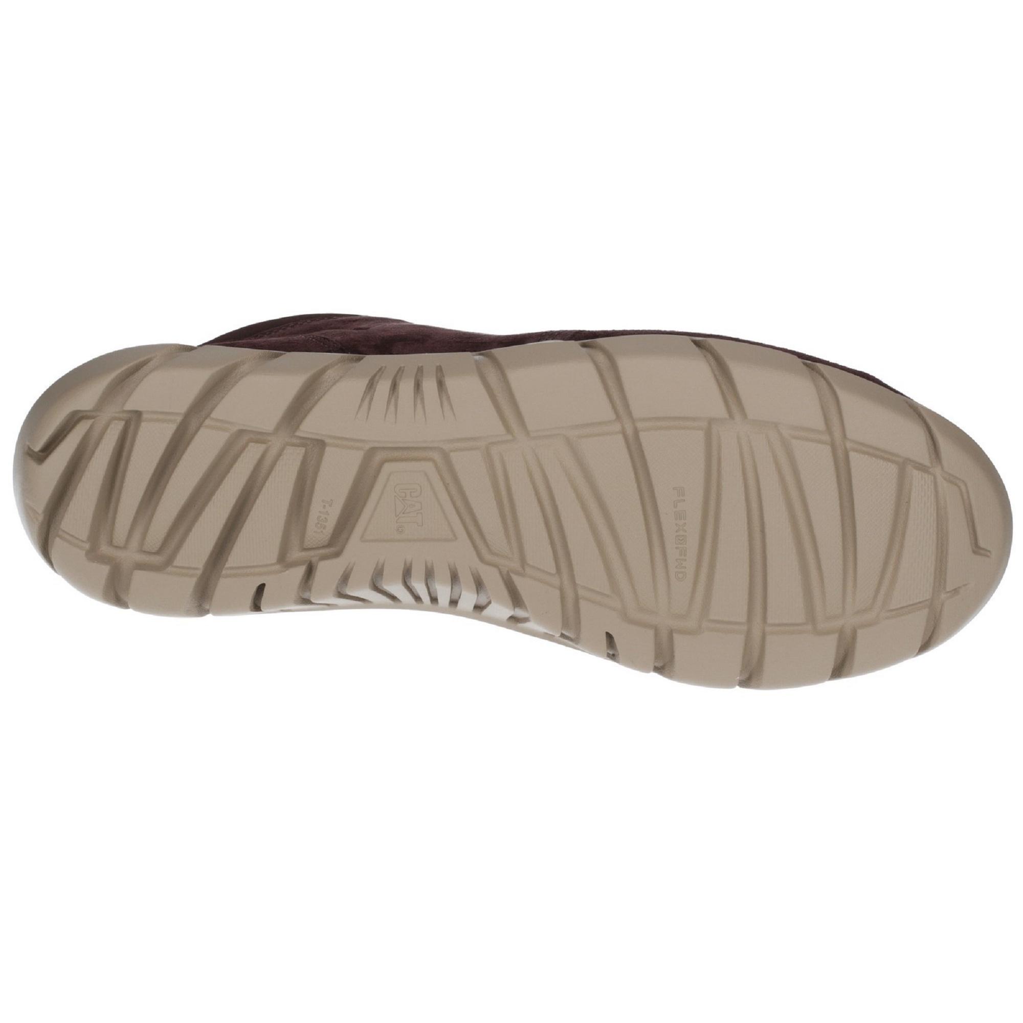 Caterpillar - Botas de piel Hendon con cordones para chico hombre Café