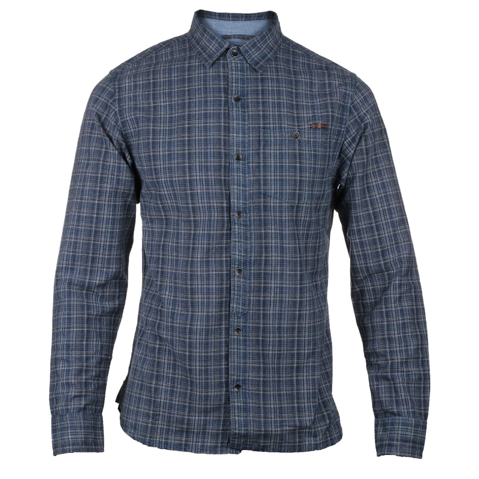 CAT Lifestyle Mens Radford Long Sleeve Shirt (L) (Plaid)