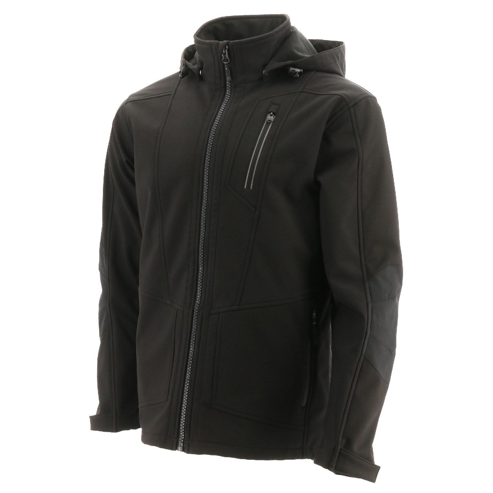 Caterpillar Mens Mercury Soft Shell Jacket (M) (Black)