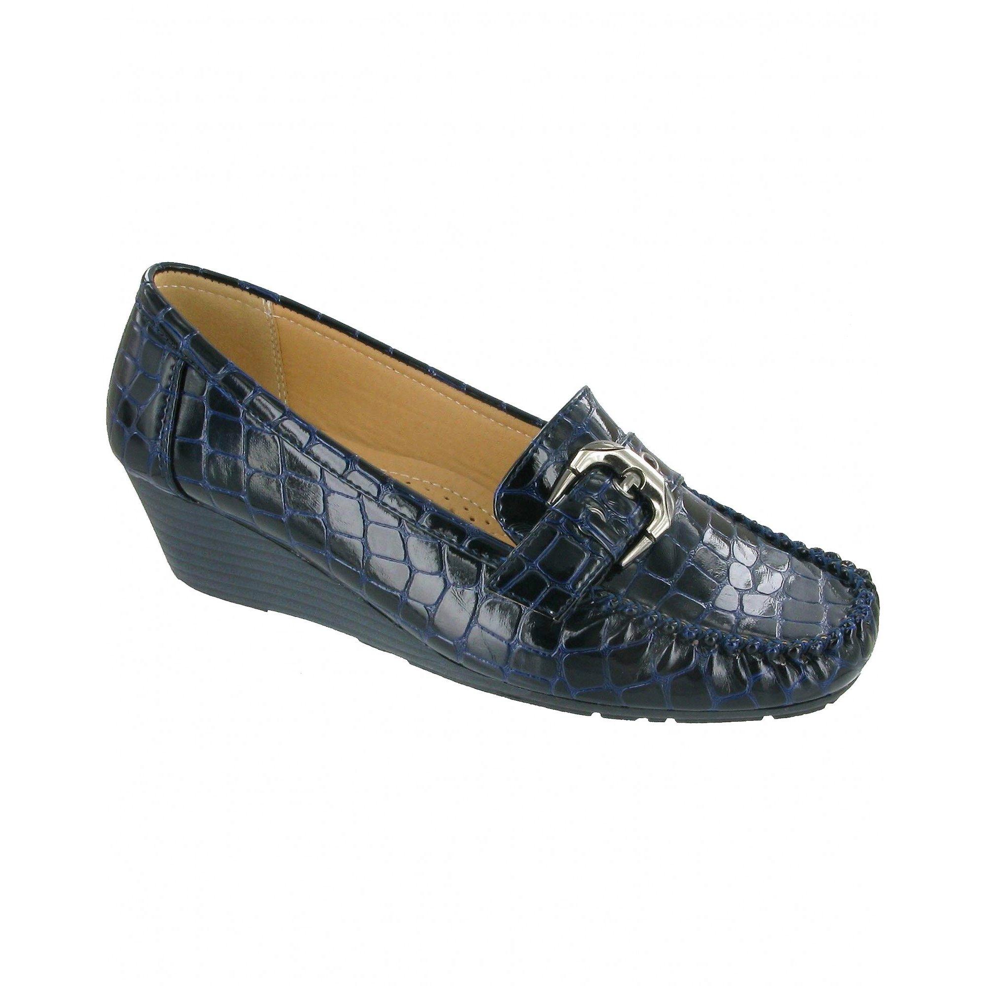 Amblers Hula Ladies Slip On Shoes / Womens Shoes (FS2388)