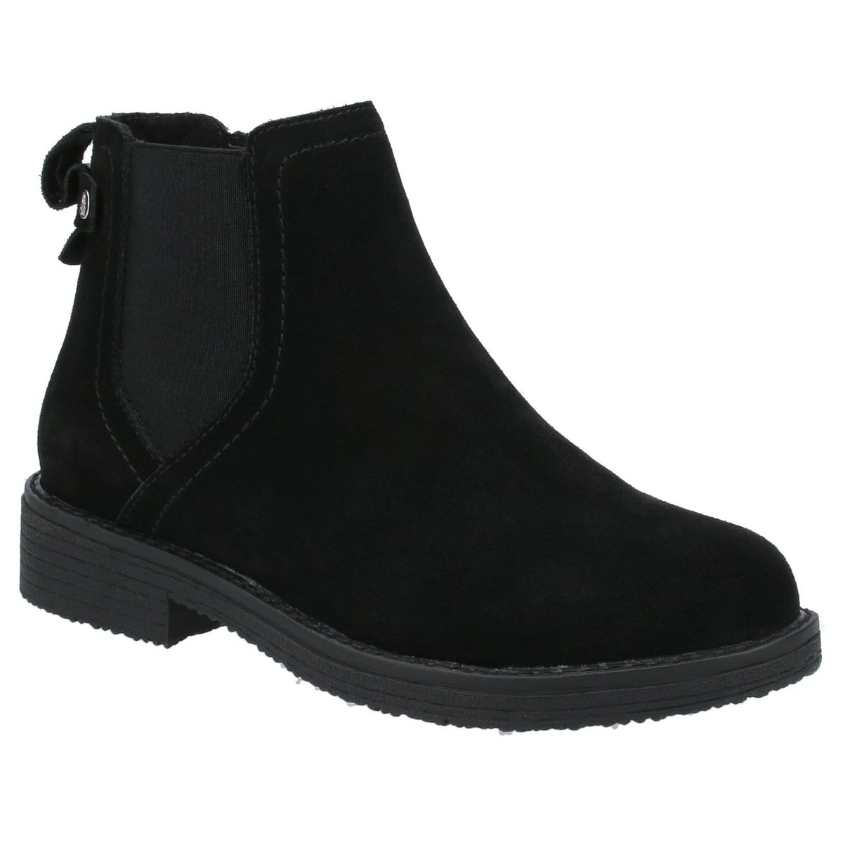 Hush Puppies Womens/Ladies Maddy Suede Ankle Boots (7 UK) (Black)