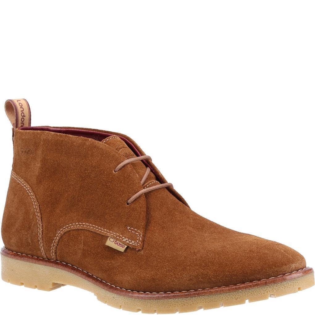 Base London Mens Miller Suede Desert Boots (11 UK) (Cognac)