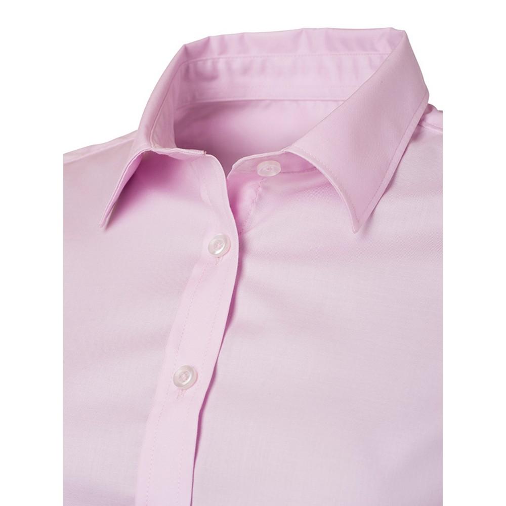 FU783 James and Nicholson Mens Longsleeve Business Shirt