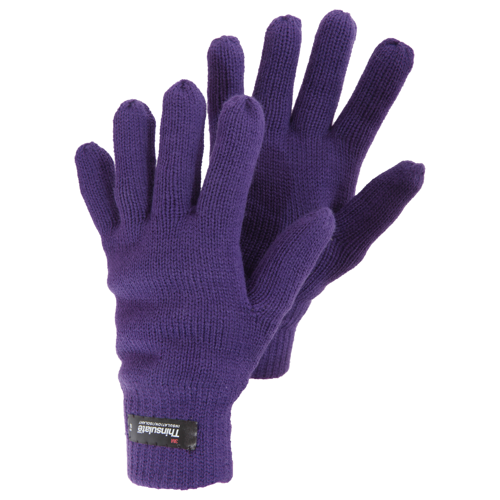 Womens/Ladies Knitted Thinsulate Thermal Winter Gloves | eBay