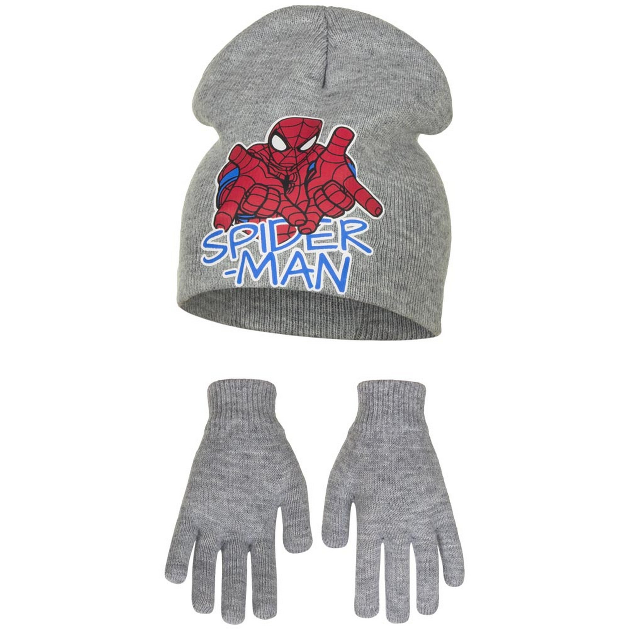 Marvel Ultimate Spider-Man Childrens Boys Profile Hat And Gloves Set GL635