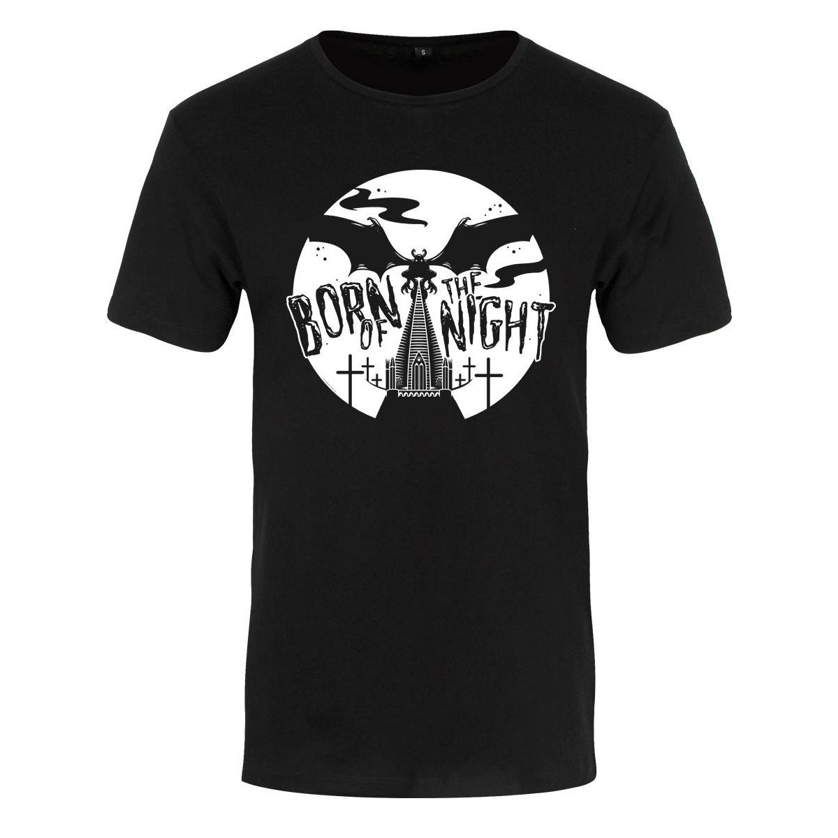 Grindstore Mens Born Of The Night Premium T-Shirt (Medium (38-40in)) (Black)