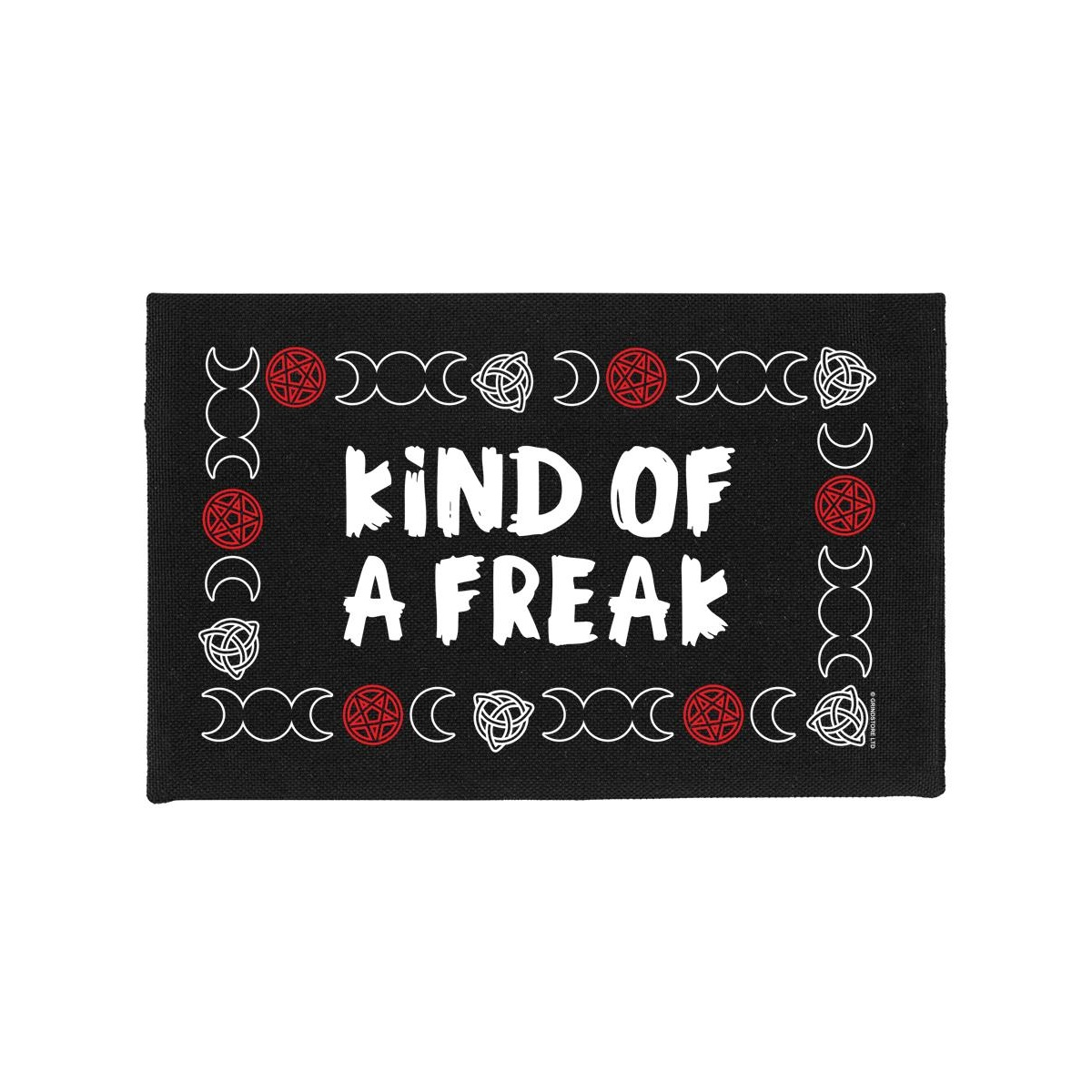 Grindstore Kind Of A Freak Make-Up Bag (One Size) (Black)