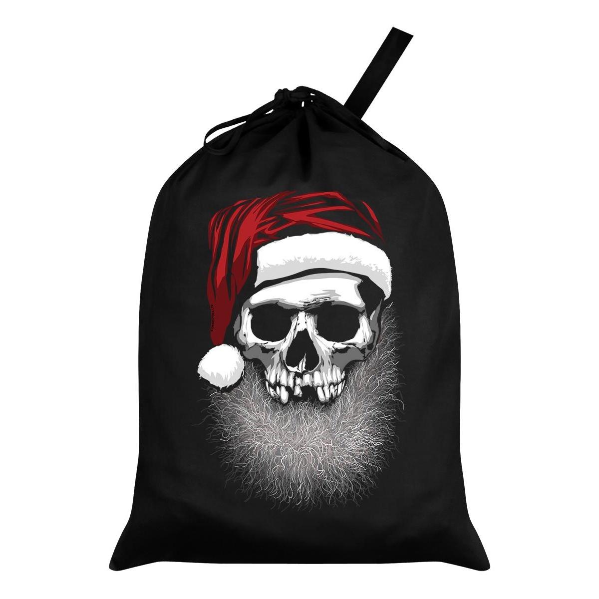 Grindstore Muerto Christmas Santa Sack (One Size) (Black)