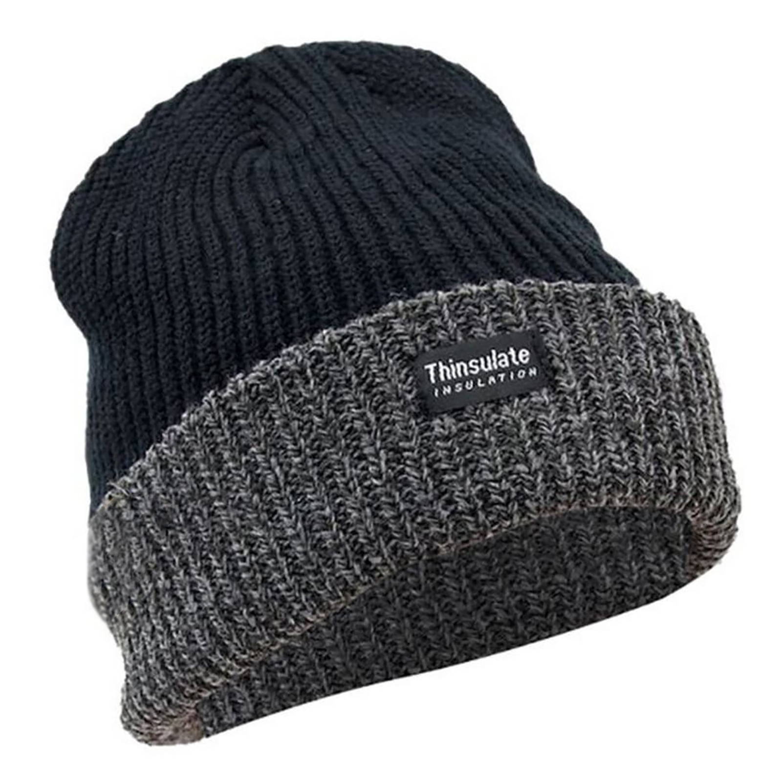Details about FLOSO Unisex Mens Womens Thinsulate Heavy Knit Winter Ski Thermal  Hat (HA358) 199df70e00e