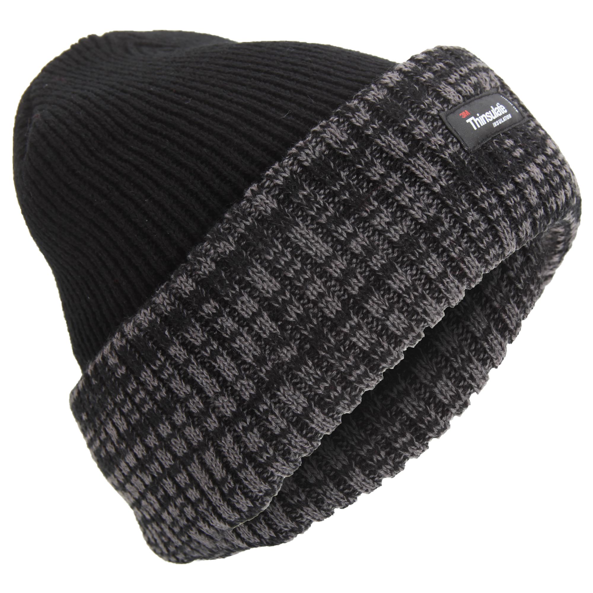771038f5b79 Mens Thinsulate Thermal Knit Winter Beanie Hat (3M 40g) (HA539)