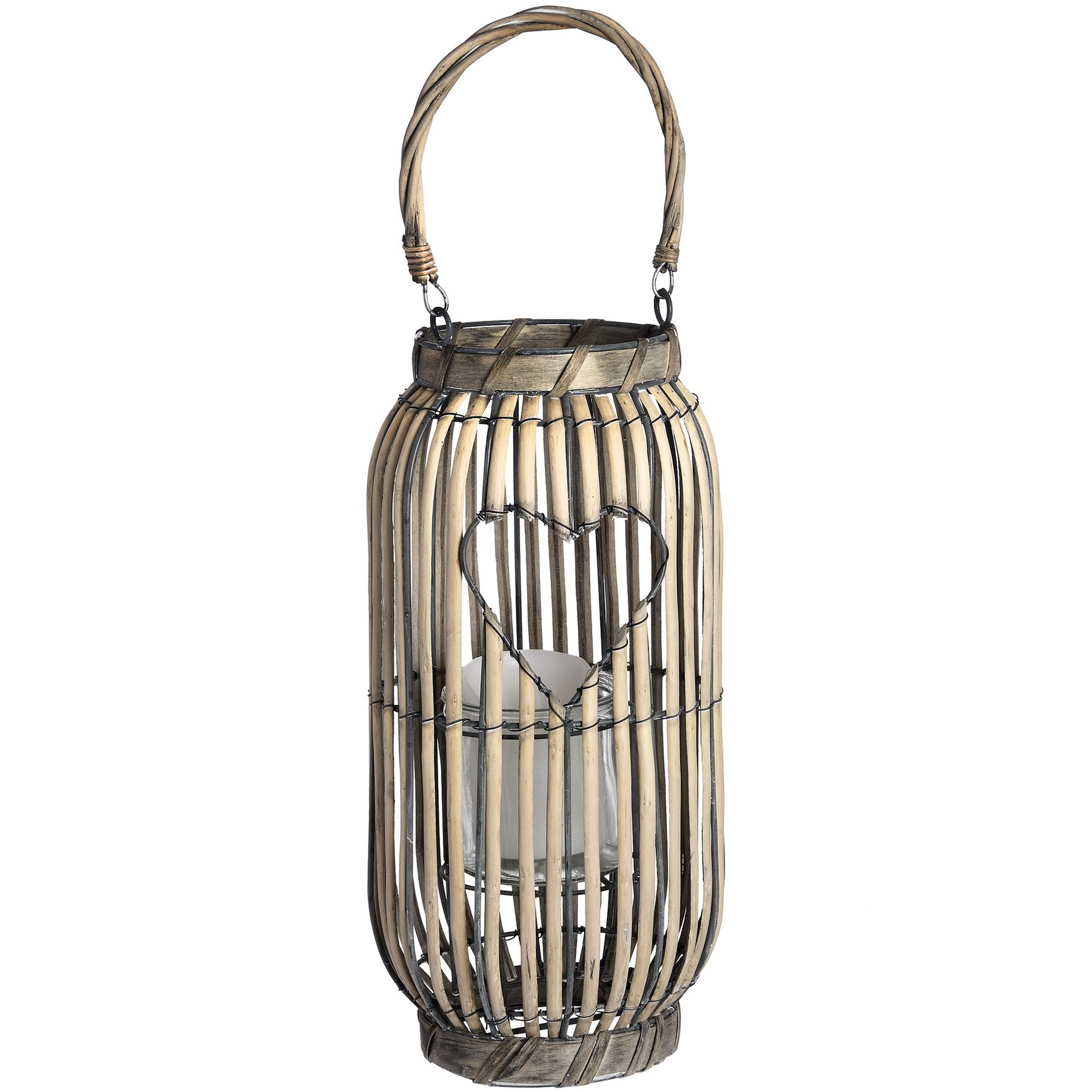 Hill-Interiors-Standing-Lantern-with-Heart-Detailing-HI2684