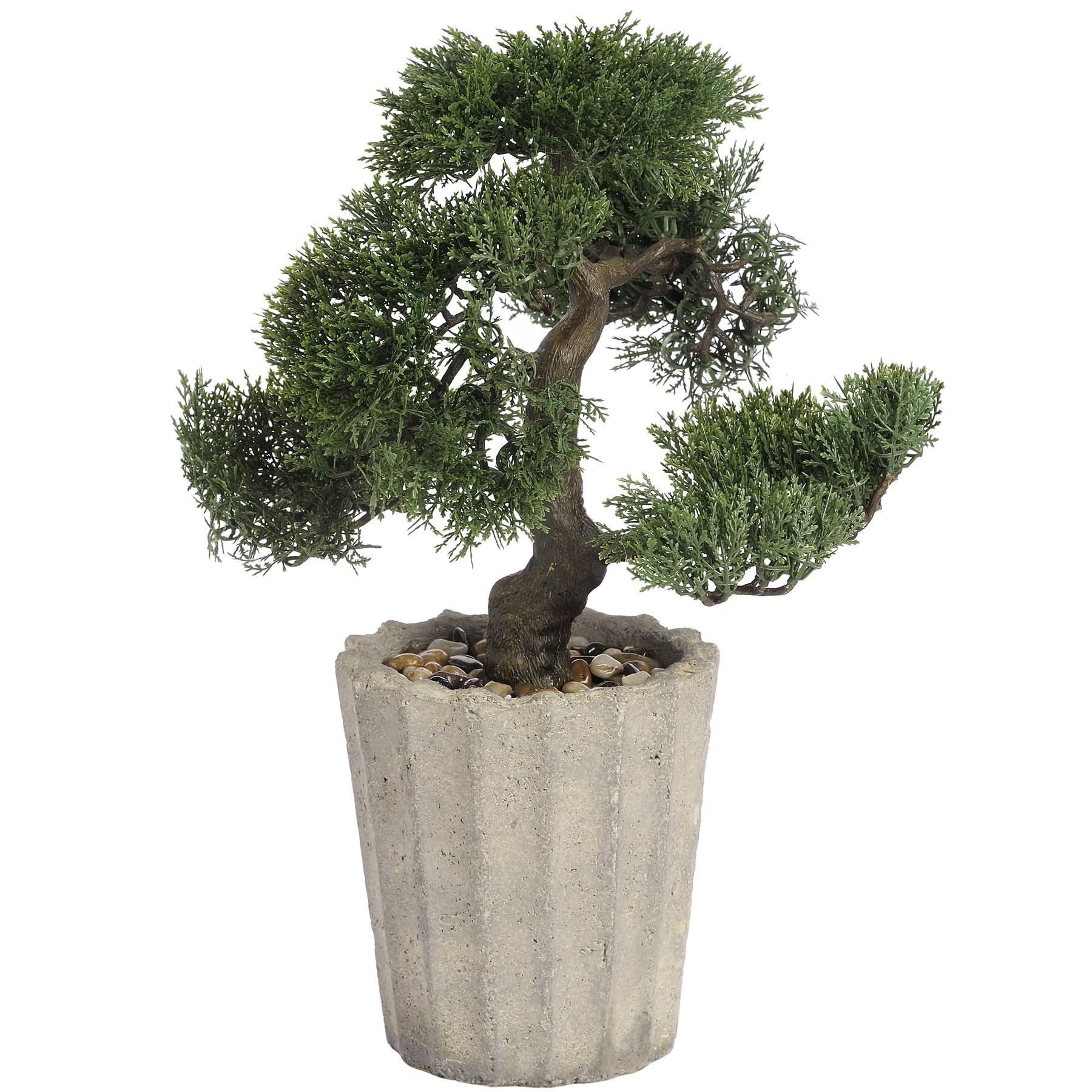hill interiors k nstlicher bonsai baum im topf ebay. Black Bedroom Furniture Sets. Home Design Ideas