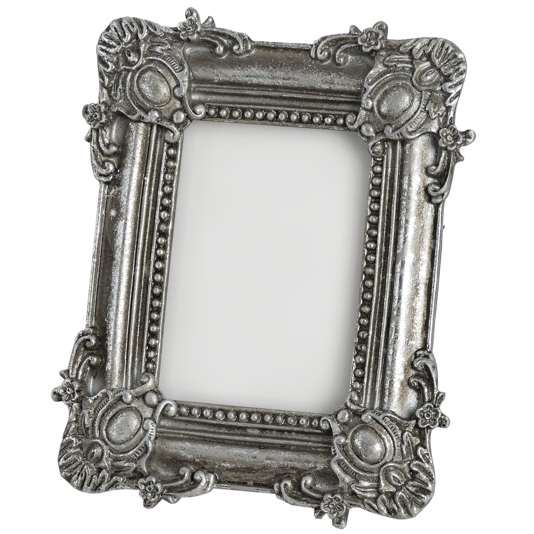 Hill Interiors Antique Silver Rectangular Photo Frame (HI923 ...