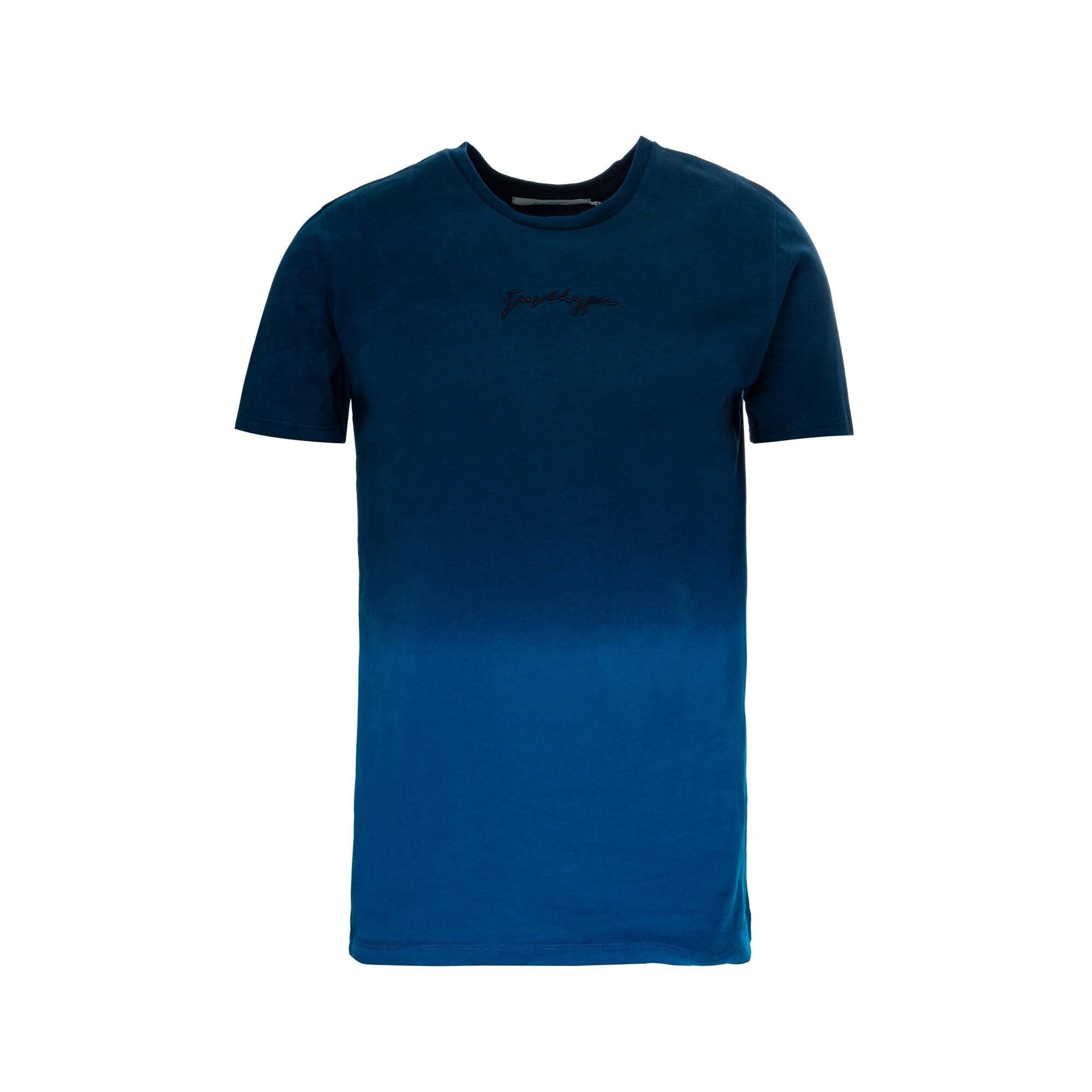 Hype Mens Fade T-Shirt (M) (Navy/Blue)