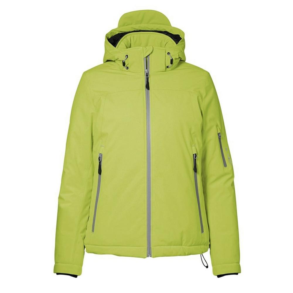 ID Womens/Ladies Winter Three Layer Regular Fitting Soft Shell Jacket (2XL) (Lime)