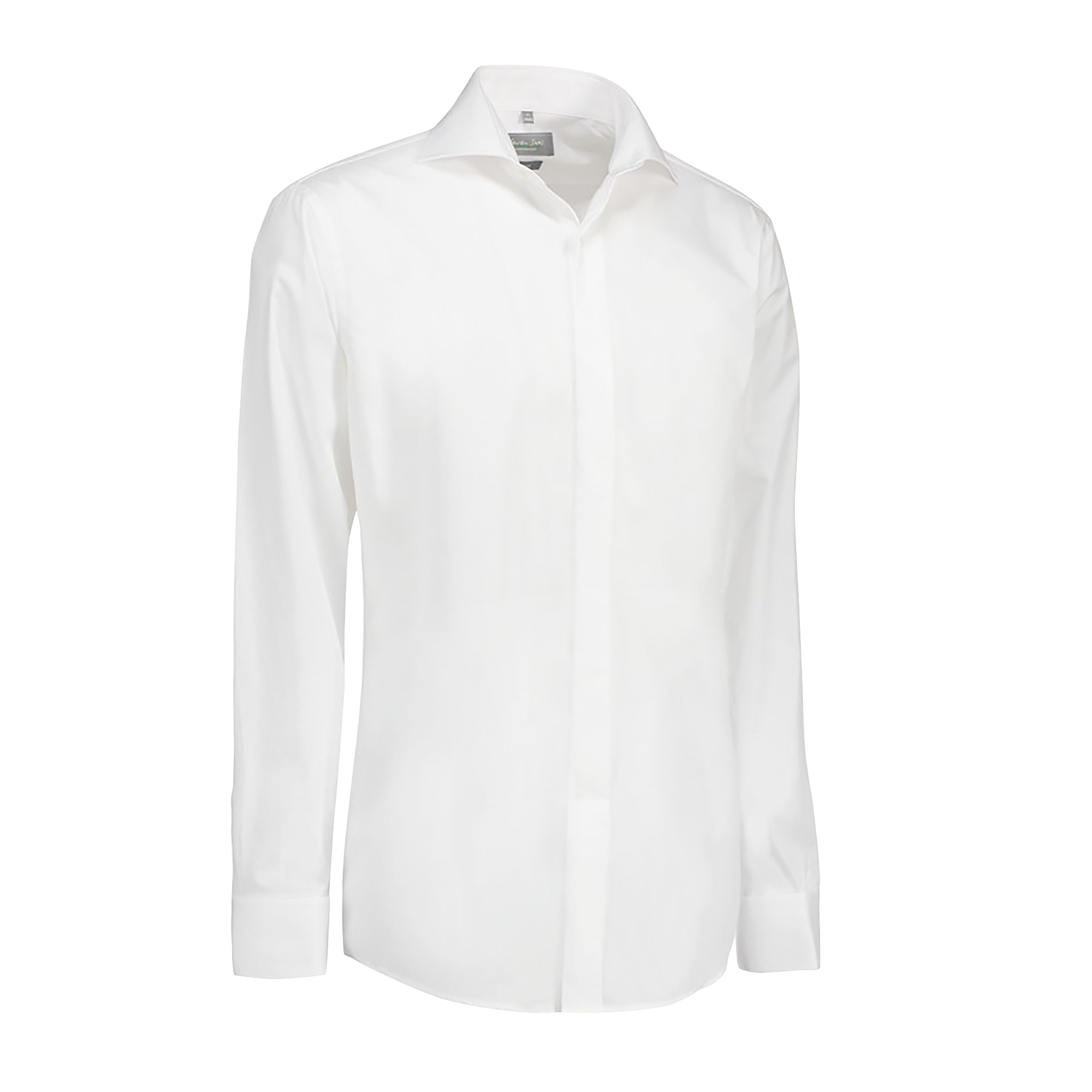 ID-Womens-Ladies-Poplin-Shirt-Tuxedo-Long-Sleeve-Slim-Fit-ID488