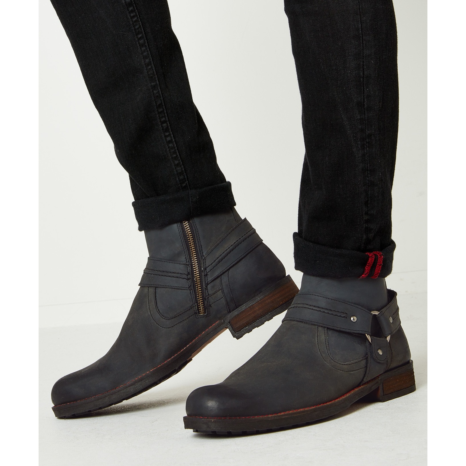 Joe-Browns-Bottines-en-cuir-HOUSTON-Homme-JB688 miniature 7