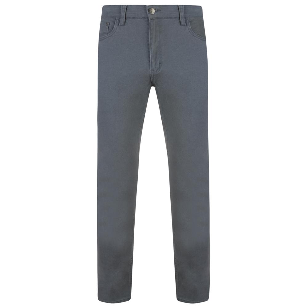 Kam-Jeanswear-Mens-Alba-Slim-Fit-Chino-Jeans-KJ114 thumbnail 5