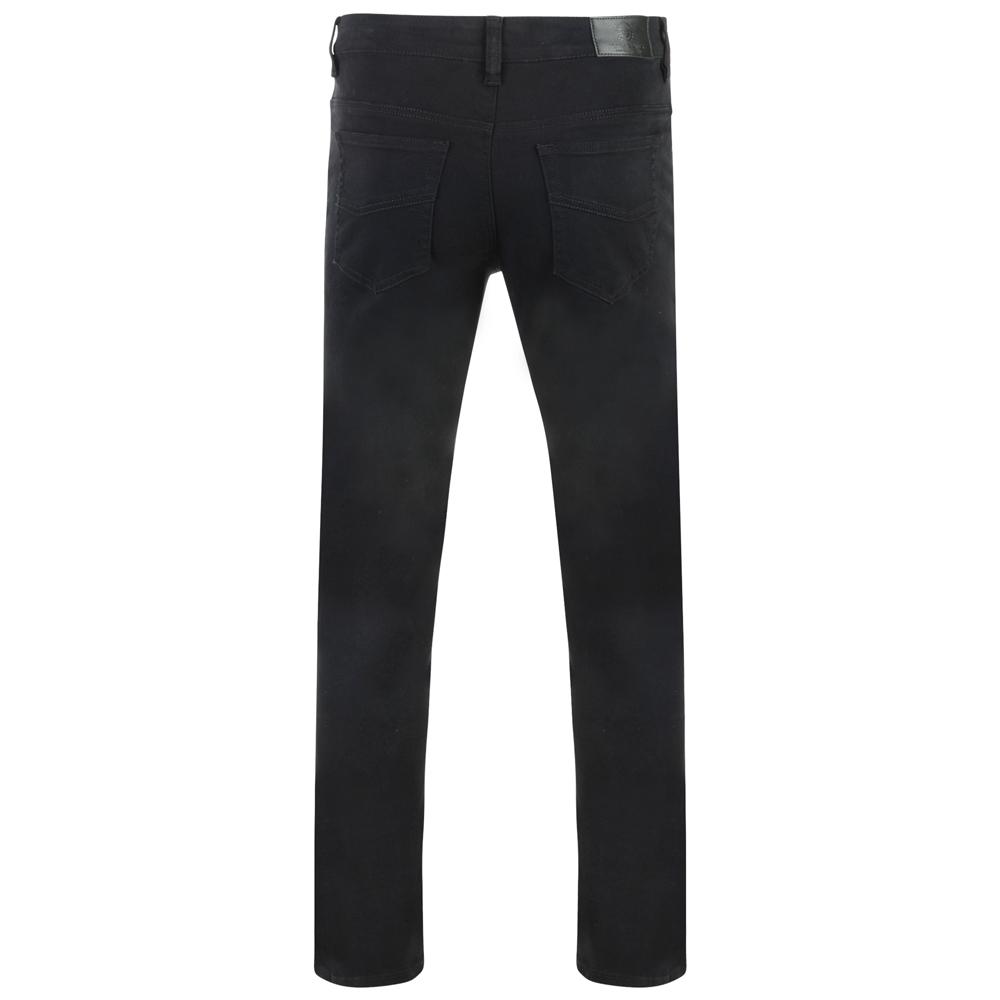 Kam-Jeanswear-Mens-Alba-Slim-Fit-Chino-Jeans-KJ114 thumbnail 3